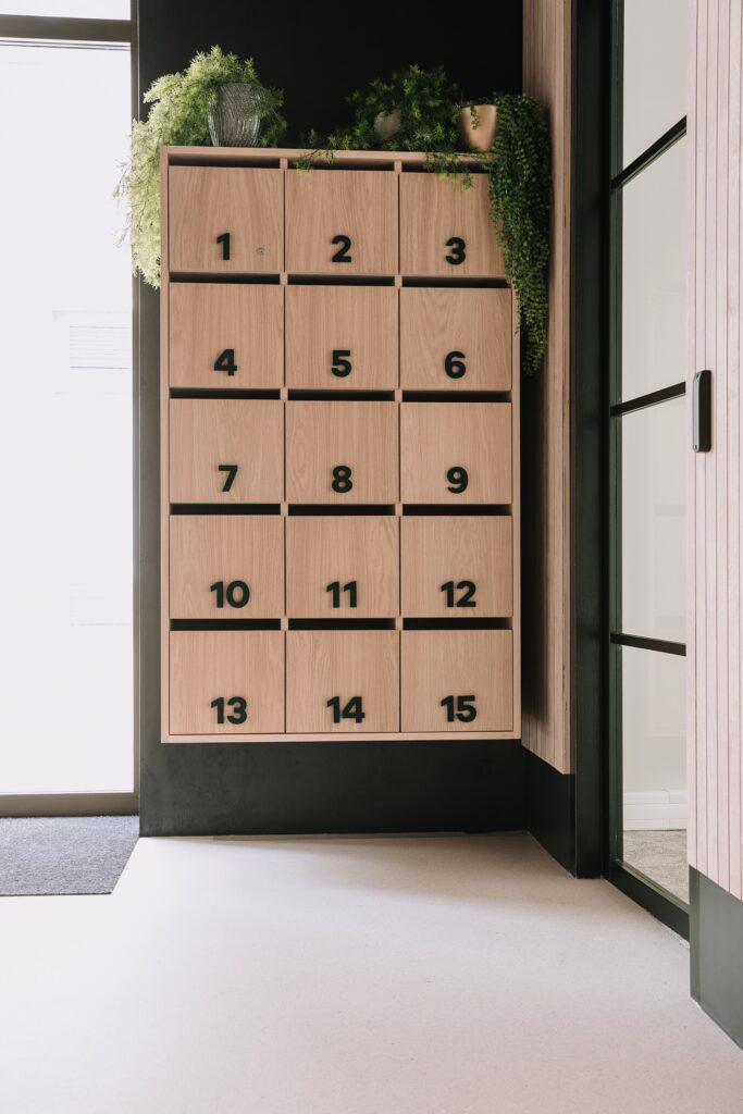 Postvakken kantoorpand Uden